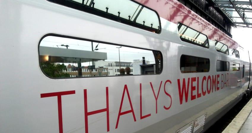 Thalys - mit dem Schnellzug in 3 Stunden nach Paris