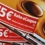 Bahntickets aus dem Supermarkt - So nutzen Sie die 15 Euro Bahn Gutscheine von Toffifee