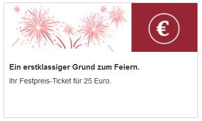 Bahn Festpreis Ticket