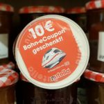 Nutella Bahn Gutschein im Wert von 10 Euro - Günstige Bahntickets aus dem Supermarkt