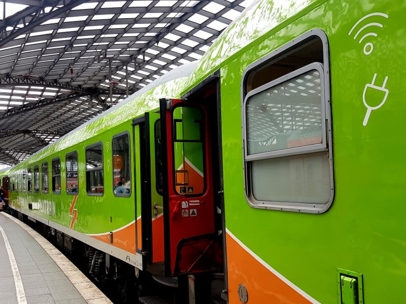 Erfahrungen mit den Flixtrain Zügen