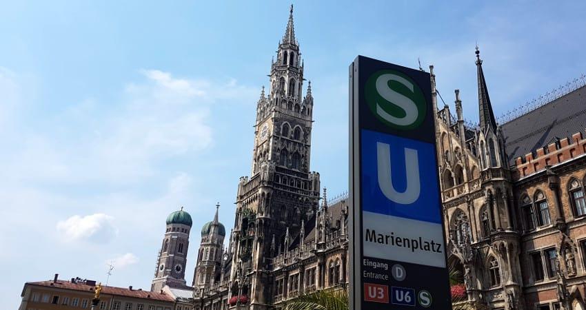 MVV in München mit dem Bayernticket