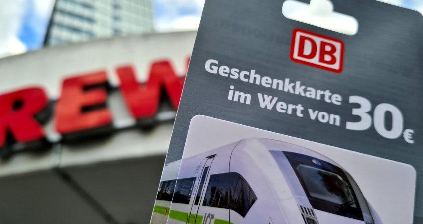 Rewe Bahn Gutschein